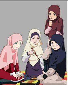 Naruto girls Hijab Ver.