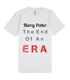 Harry potter, the end of an era.
