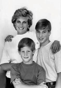 Lady Di and the princes