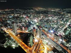 Japan at Night | Flickr by