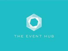 The Even Hub logo by Poly via Dribbble