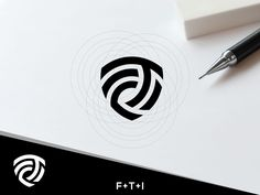 FTI LOGO CONCEPT designed by goy_design. Connect with them on Dribbble; the global community for designers and creative professionals. Identity Card Design, Branding Design, Inspiration Logo Design, Typographic Logo, Graphic Wallpaper, Business Logo Design, Logo Concept, Graphic Design Tutorials, Monogram Logo