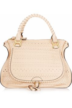 Chloe \u0026#39;Marcie - Small\u0026#39; Embossed Leather Satchel | Nordstrom, Bags ...