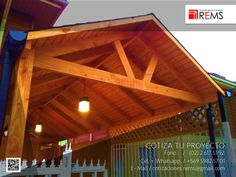 Pergola, Outdoor Structures, House Styles, Home Decor, Wooden Sheds, Patio Roof, Houses, Decks, Day Planners