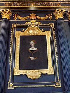 Elizabeth Woodville, Wife of King Edward IV of England in a spectacular frame