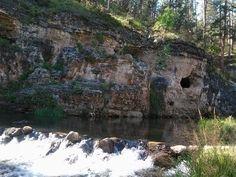 Iron Creek trail in Black Hills, SD