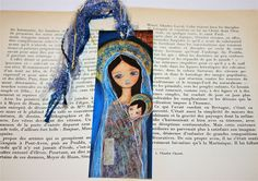 Nativity Star II    Laminated Bookmark  Handmade  by FlorLarios