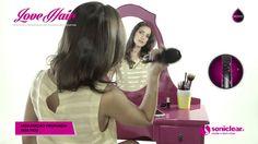 Escova Ultrassônica Soniclear Love Hair