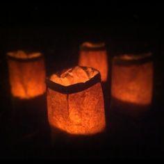 luminaries halloween how to make