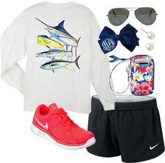 Vera bradley, guy Harvey, Nike, clothes