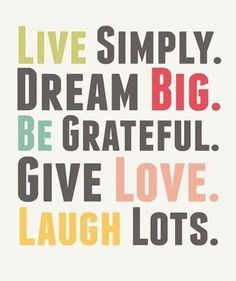 Live Simply - Best Life Quote