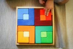 Reseña: Puzzle Waldorf cuadrado - Tigriteando Puzzles, Puzzle, Riddles, Jigsaw Puzzles