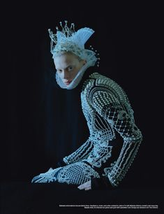 visual optimism; daily fashion fix.: dame of thrones: kristen mcmenamy by tim walker for w september 2012