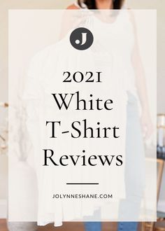 A white t-shirt is a summer wardrobe essential, but finding the perfect one can be like trying to find a needle in a haystack. I've rounded up the best white t-shirts of 2021, ranging in price from $18 to $80. Check out the post for my top pick and see how I style my favorite white t-shirt outfits for the over 40 modern woman.
