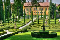 Villa gardens.