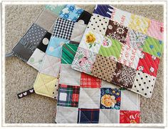 potholders by ayumills, via Flickr