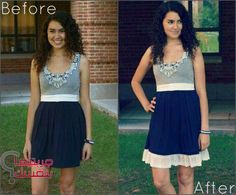 For those too short dresses: Elemental Carbon: Lengthening a Dress with Lace // DIY Diy Clothing, Sewing Clothes, Diy Dress, Lace Dress, Diy Gown, Modern Fashion, Diy Fashion, Lengthen Dress, Lace Trim Shorts