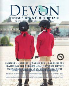 Devon Horse Show & Country Fair. www.DevonHorseShow.org