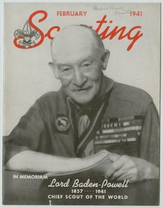 Founder of Scouting, Lord Baden Powell.