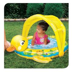 For ages 18m+ Provides sun protection Durable PVC construction Perfect for toddlers. Banzai has the BEST SUMMER Backyard Toys for you to play and get SOAKED! #FunYourself!