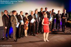 Finale: Gala zur Verleihung von Innovationspreis und Studentenpreis 2014 der Wirtschaftszeitung für Ostbayern im Cinemaxx Regensburg. Mai 2015. Moderatorin: Jeannine Tieling.