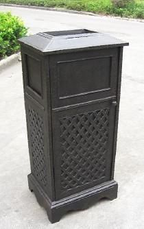 Item No.BK-L016  Name:High-foot Dustbin  Size:51*42*109