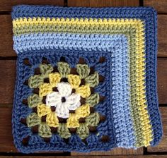 One Square At A Time: Block #51: Corner Granny... Found no pattern..