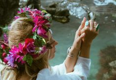 Flowers In Her Hair - Bicyclette Boutique
