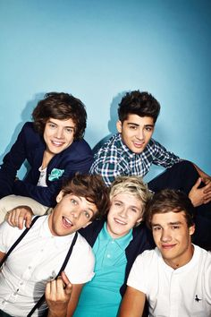 Unseen One Direction photoshoot from 2012 (I'm pretty sure I've seen this photo before but whatevas. Lol - Katie S)