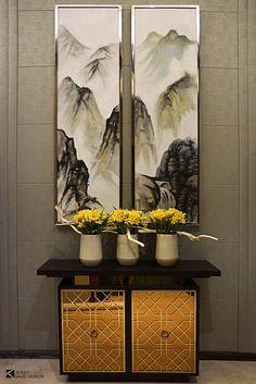 SIDEBOARD DECOR IDEAS |  luxury sideboard for a modern entryway  | bocadolobo.com/ #modernsideboard #sideboardideas