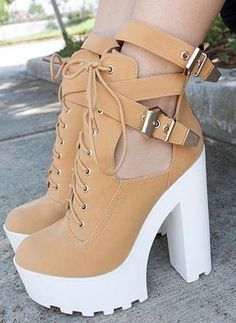 shoes - High Heel Boots 2018 Ideas for Fashion High Heel Boots, Heeled Boots, Shoe Boots, High Heels, Shoes Heels, Boot Heels, Heeled Sandals, Black Heels, Shoes Sneakers