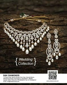 Creatives for Wedding collection to S&K Diamonds:
