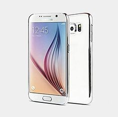 iAnko Glitter Ultra-thin Anti-scratch Aluminum Metal Transparent Bumper Hard Back Case Cover for Samsung Galaxy S6 (Silver) iAnko http://www.amazon.com/dp/B00YA5ACTU/ref=cm_sw_r_pi_dp_iHYOvb1ZE6FG1