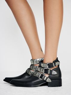 Jeffrey Campbell + Free People Ace Western Boot at Free People Clothing Boutique