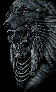 All About Art Tattoo Studio Rangiora. 03 310 6669 or Totenkopf Tattoos, Indian Chief Tattoo, Indian Skull Tattoos, Indian Headdress Tattoo, Native American Tattoos, Native Tattoos, Wiccan Tattoos, Celtic Tattoos, Dark Art