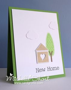 The Card Grotto: New Home -- another clean design