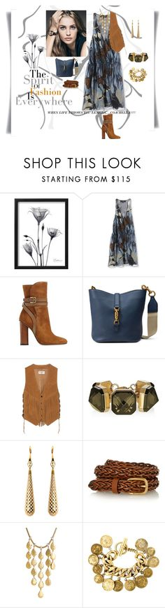 """COACHELLA, here I come!!!"" by you-dontsay ❤ liked on Polyvore featuring Gucci, Yves Saint Laurent, John Hardy and Chanel"