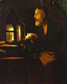 Lágrimas de S. Pedro (Georges de la Tour, 1648)
