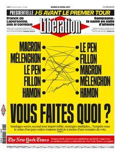 Libération - Mardi 18 Avril 2017 - N° 11167