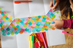 This is a great rainy afternoon project that will engage children in the making, decorating and playing. It's fast to make, fun to decorate and it will fold away flat so you won't have to find...