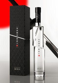 designer vodka bottle design.  amazing packaging