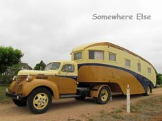 "The custom built 1949 ""Highway Palace"" - Australia's most awesome vintage fifth wheeler."