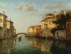 Francesco Guardi, Venice Painting, Classic Paintings, Traditional Paintings, Landscape Paintings, Landscapes, Venice Italy, Oil Painting On Canvas, Monet