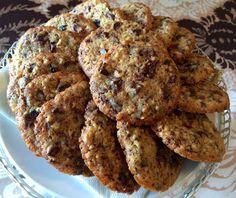 Liian hyvää: Suklaiset rusinacookiet