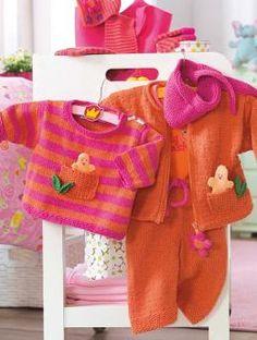 Pulli, Halstuch und Fingerpuppe, 6738 - Gratisanleitung: Für kleine Mädchen und gegen kühle Brisen!