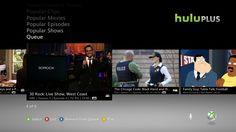 Hulu Plus on Xbox