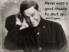 Food for thought I guess!  Love Will Rogers.  http://www.primary-education-oasis.com