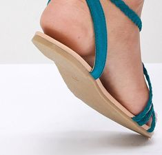 fb16e10e29e71 DESIGN Fayla Plaited Tie Leg Flat Sandals