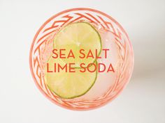 Sea Salt Lime Soda -- perfect to use with margaritas! #ArtisanSodaWorkshop recipe