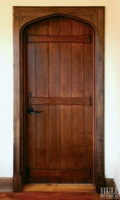 English Plank Door by Hull Historical